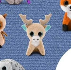 Ty Beanie Boo Glitzy the Reindeer McDonald's Toy